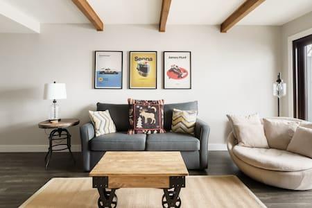 Luxury Condominium with Rustic Minimalist Style