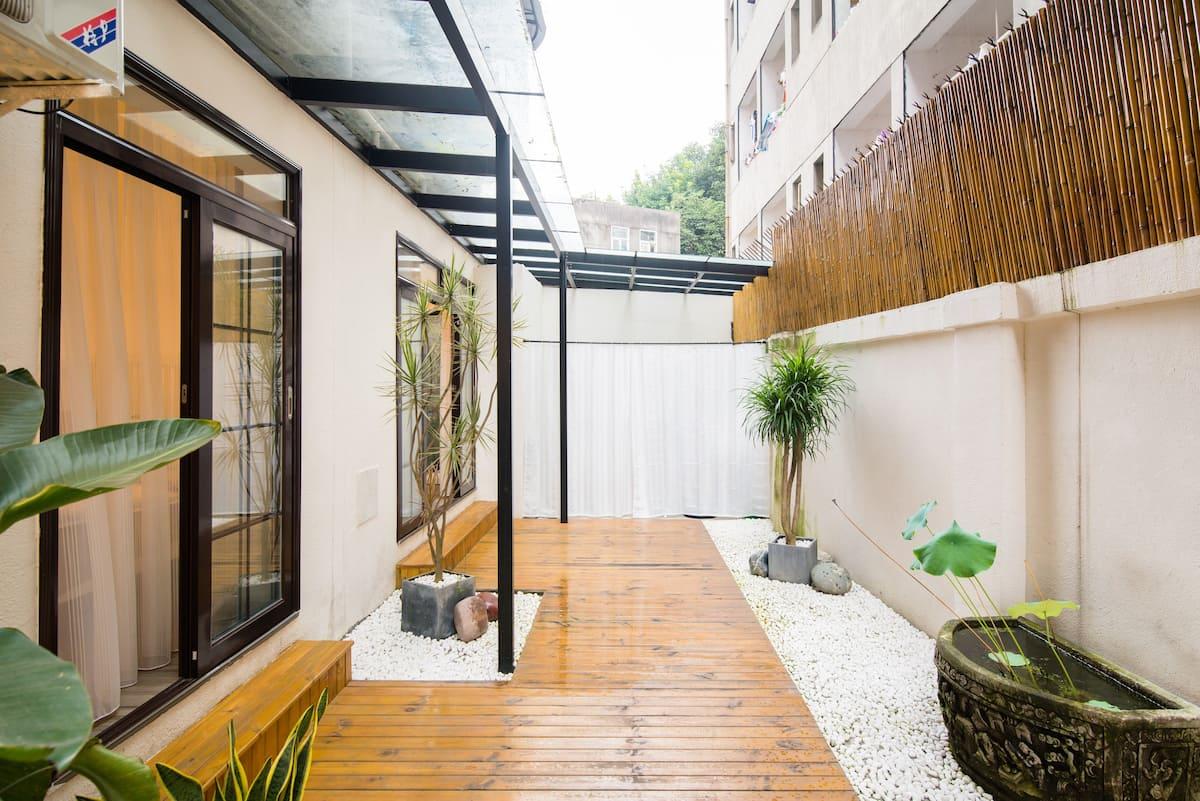 巷里花园民宿-宽窄巷子旁的花园三居