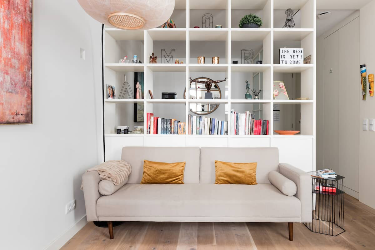 Central Lisbon Living in a Light-Filled Studio