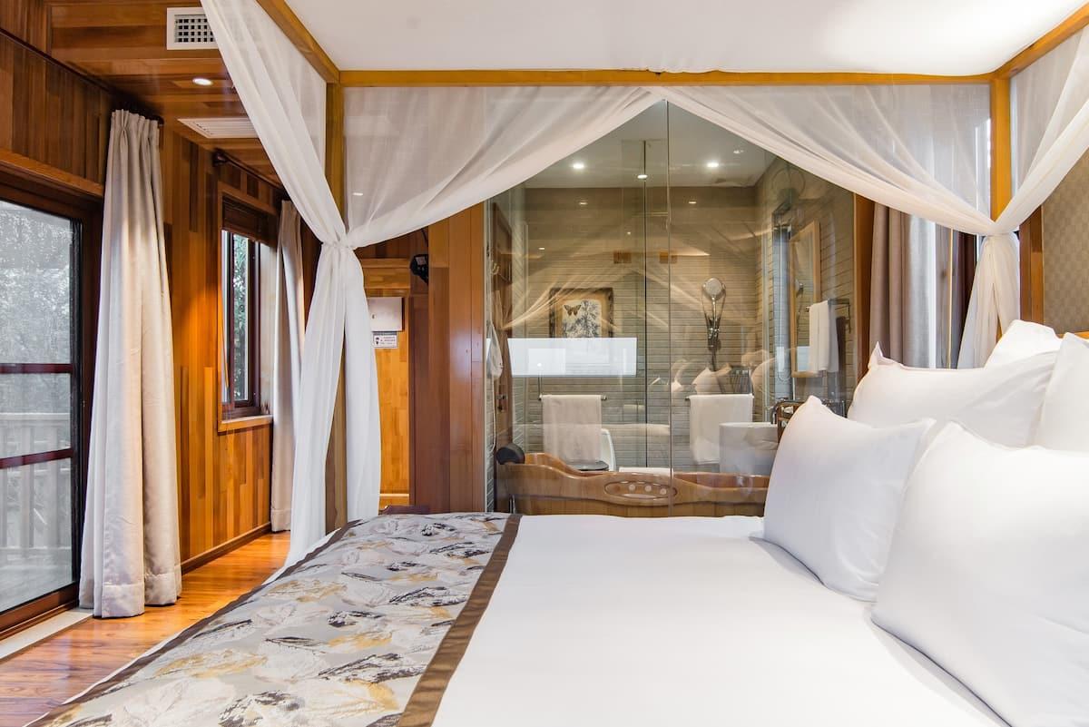 豪华独栋山景木屋别墅 Star Cabin Hotel星空木屋酒店