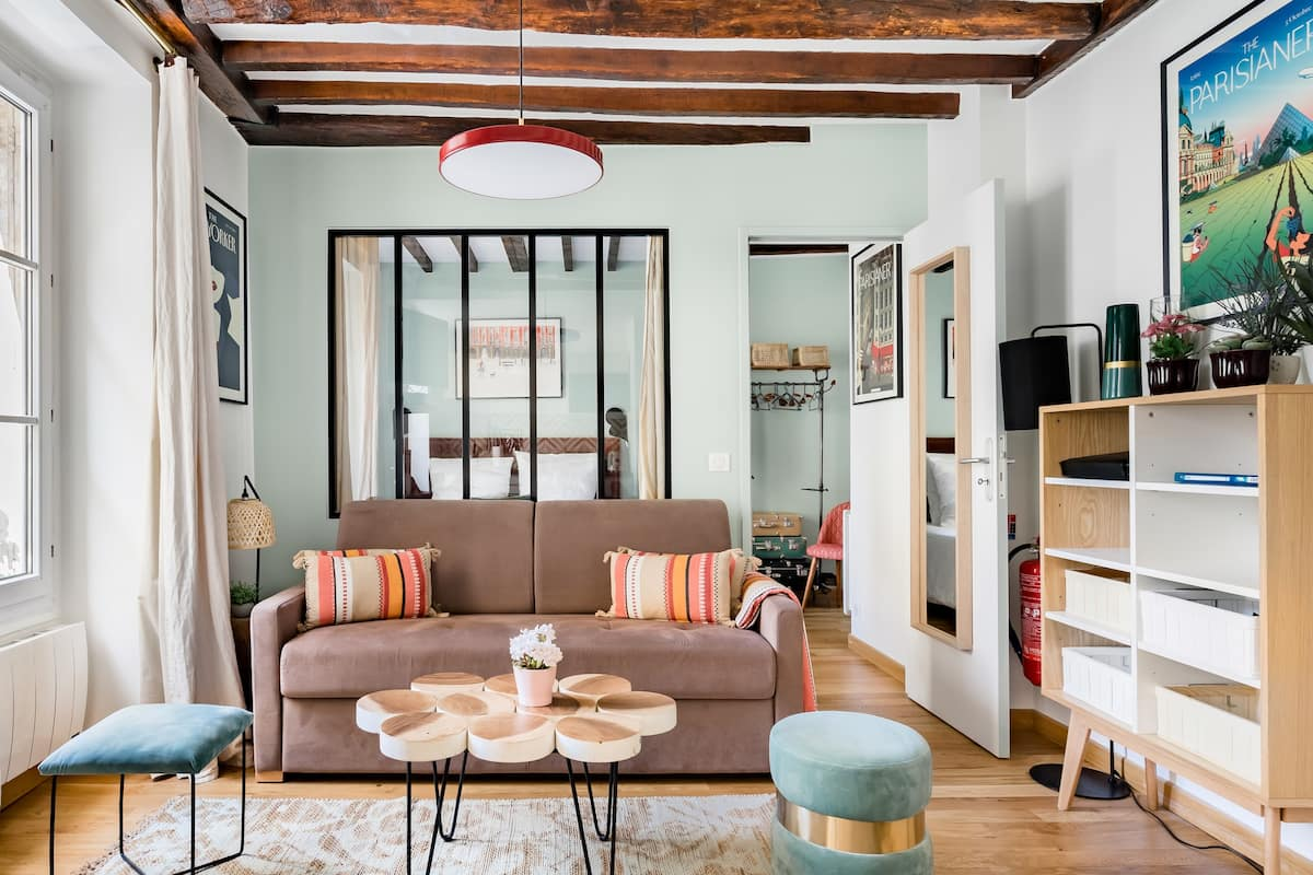 17th Century Residence Turned Cute Character Apartment