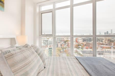 Entertainment District Condo with Expansive City Views