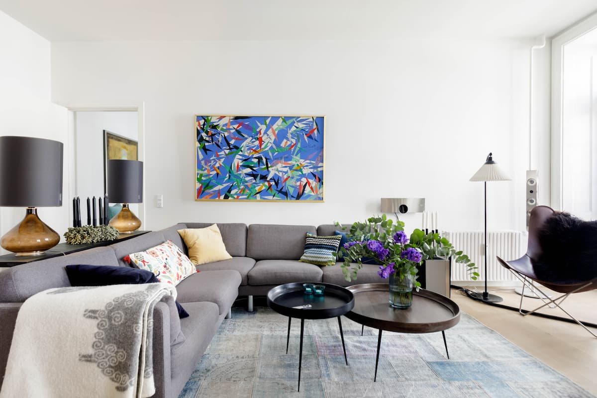 Luxurious, elegant and comfortable living in the heart of Copenhagen