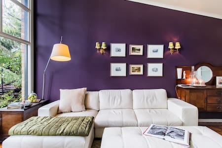 Mural House Olinda, Feel Inspired in This Mid-Century Home