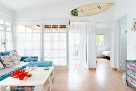 Beautiful and Bright Bungalow Marinero in Campo International