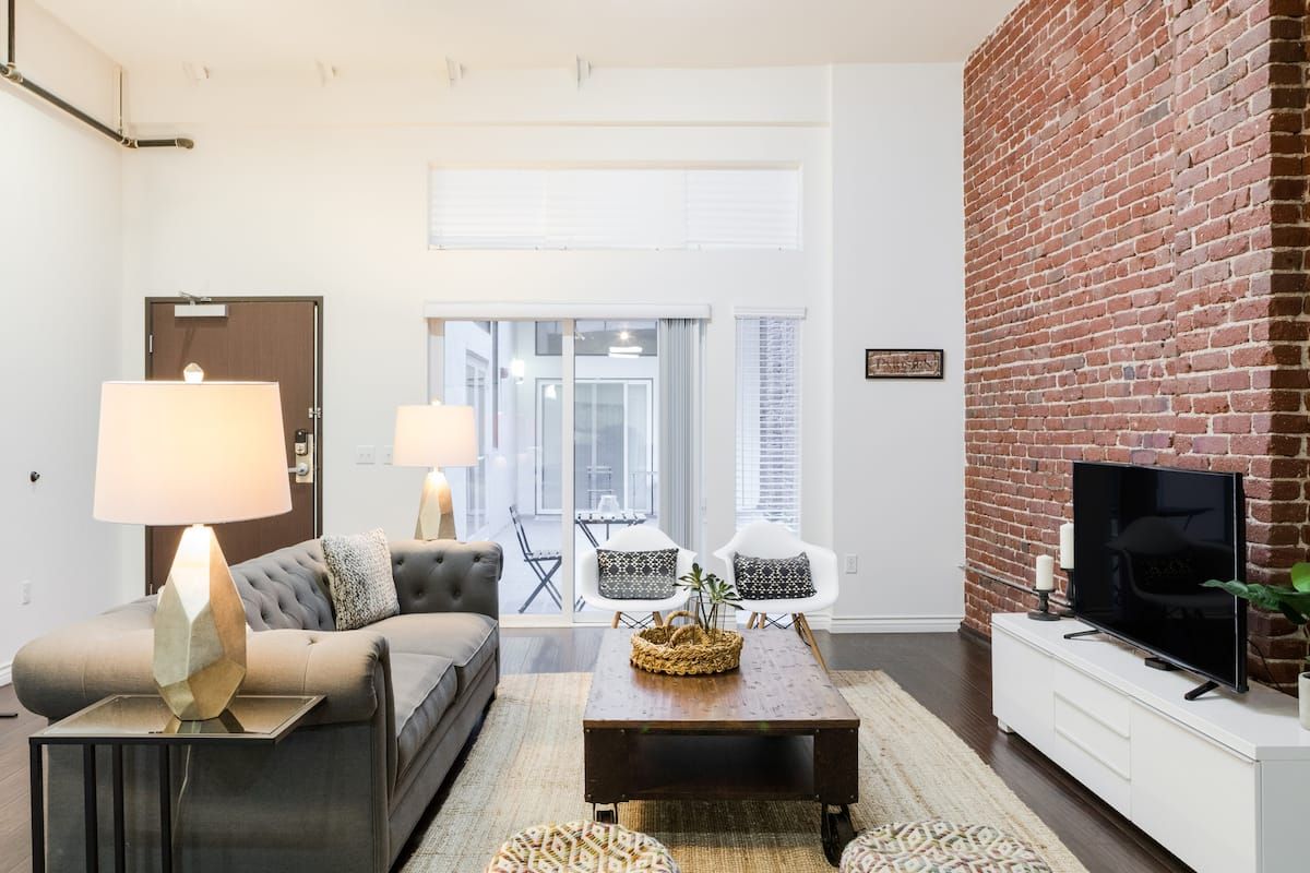 Explore Downtown from a Debonair Urban Loft