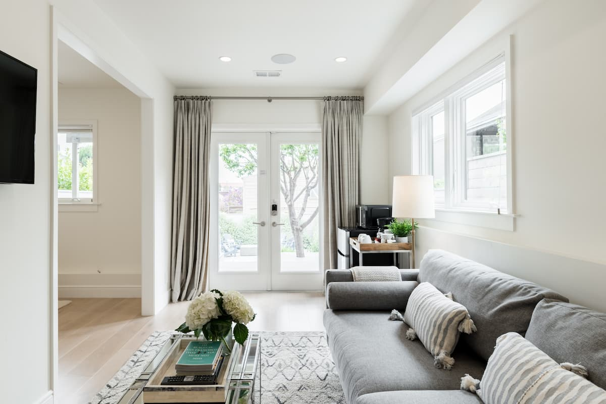 Hotel-like, Private Suite with Garden in Bernal Heights