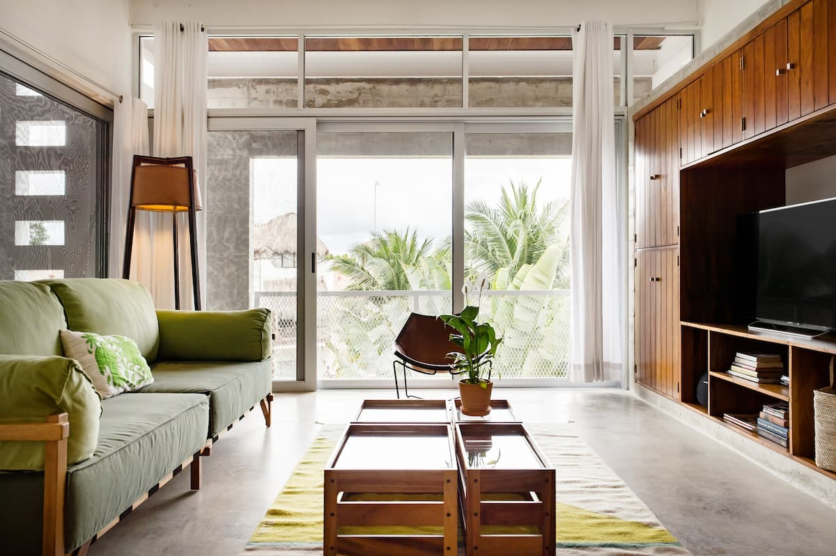 Natural Materials and Sleek Style near Downtown Tulum