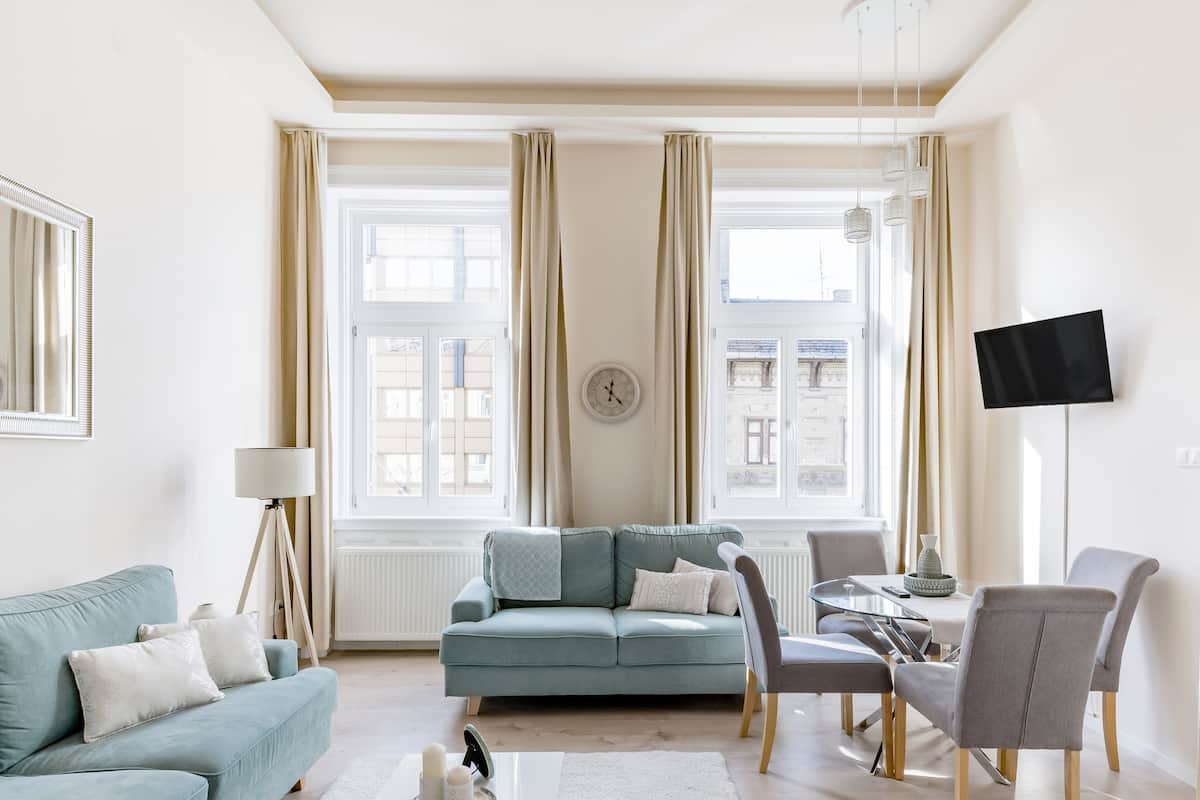 Updated Chic Apartment in Historical Building