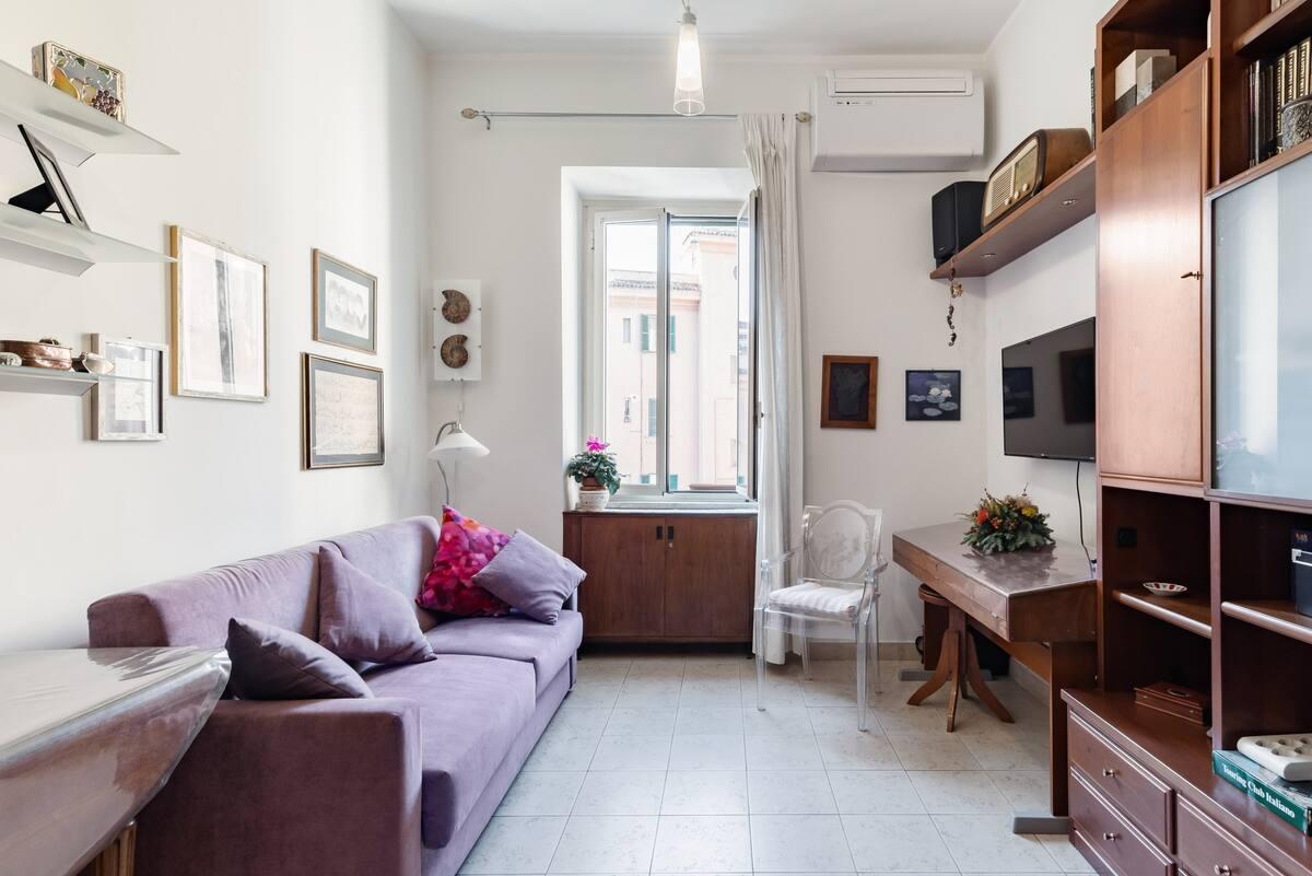 Grazioso e tranquillo appartamento in zona vaticana