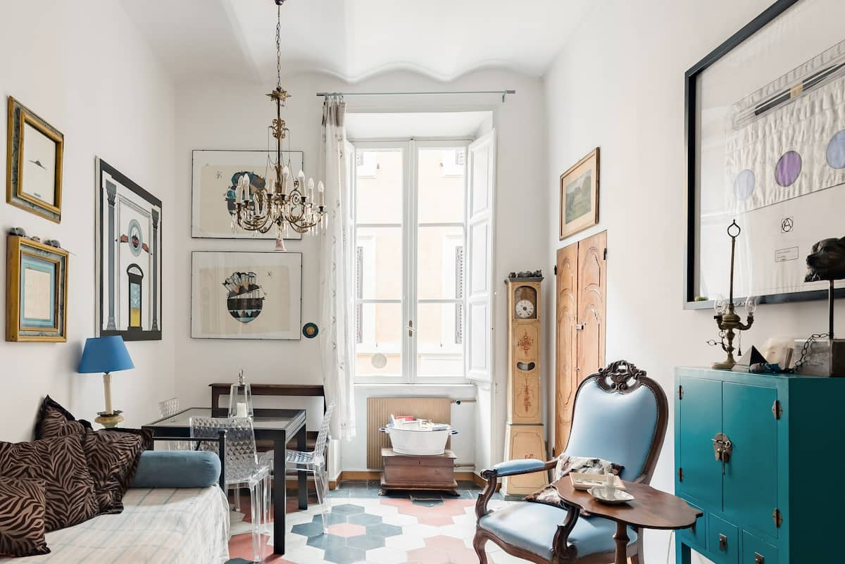 Explore Rome from a Sophisticated Home