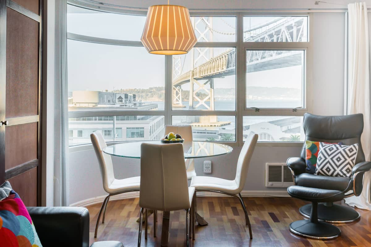 Waterfront Bay Bridge Views Condo in Heart of San Francisco
