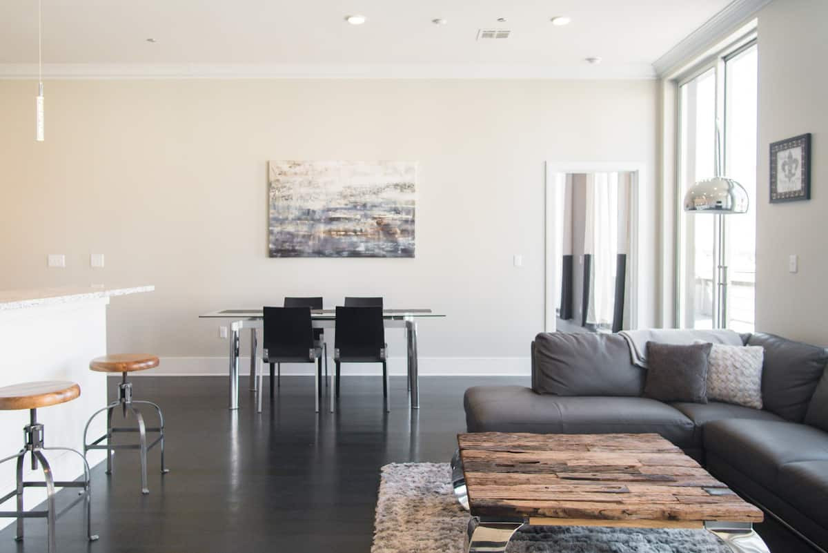 Easy Living at a Downtown Penthouse with Private Terrace