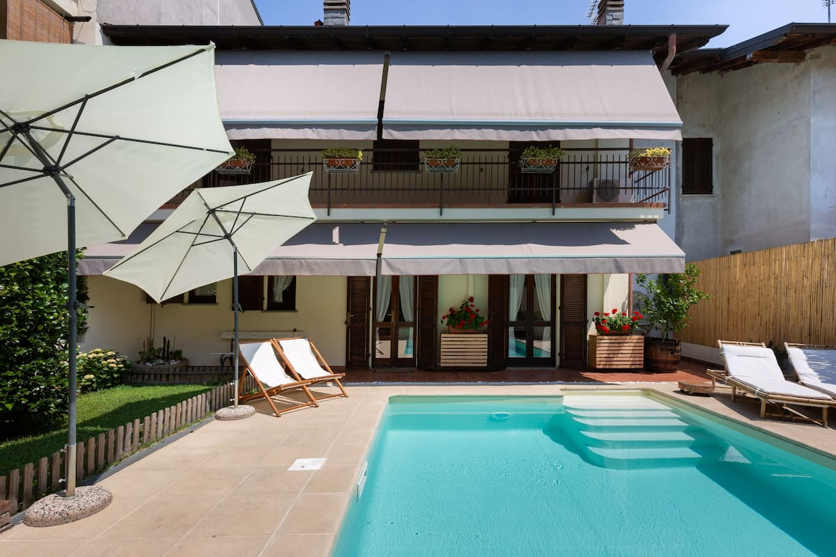 Romantica casa country chic con piscina privata
