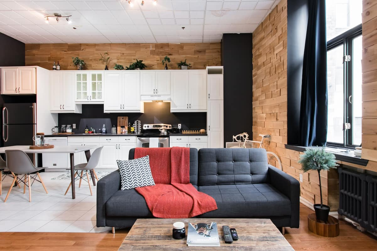 Wander to Montreal Harbour from a Chic Urban Loft