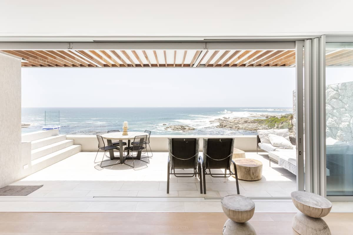 Beautiful Ocean Views from a Seafront Home