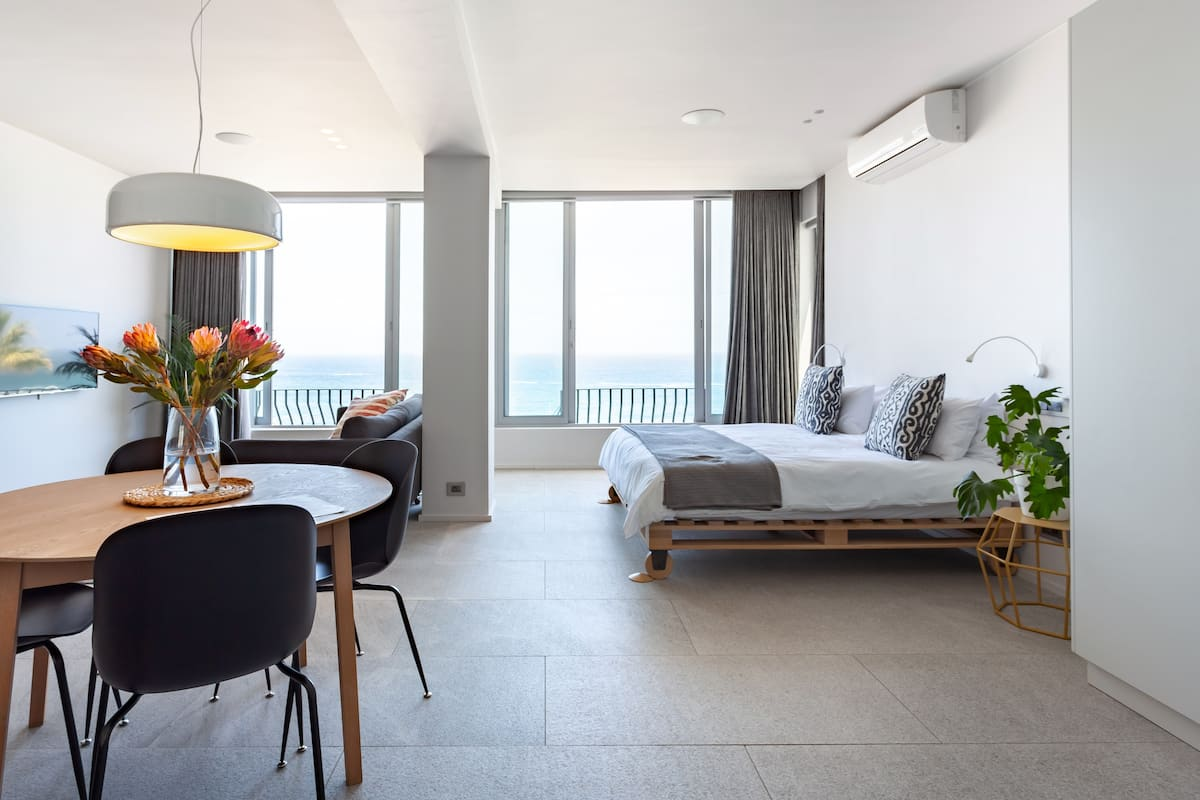 Hip Beachfront Apartment with a Minimalist Vibe & Best Views