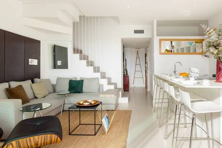Dine on the Balcony of a Penthouse in Sant-Antoni