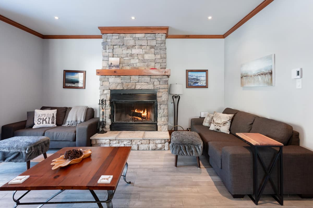 Bright Home by the Pool and 10 Feet from Ski-In Ski-Out