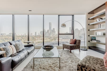 Walk to the Business District from a Chic Home
