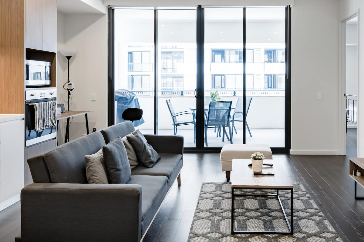 Settle into Urban Life at a Slick, Sophisticated City Pad