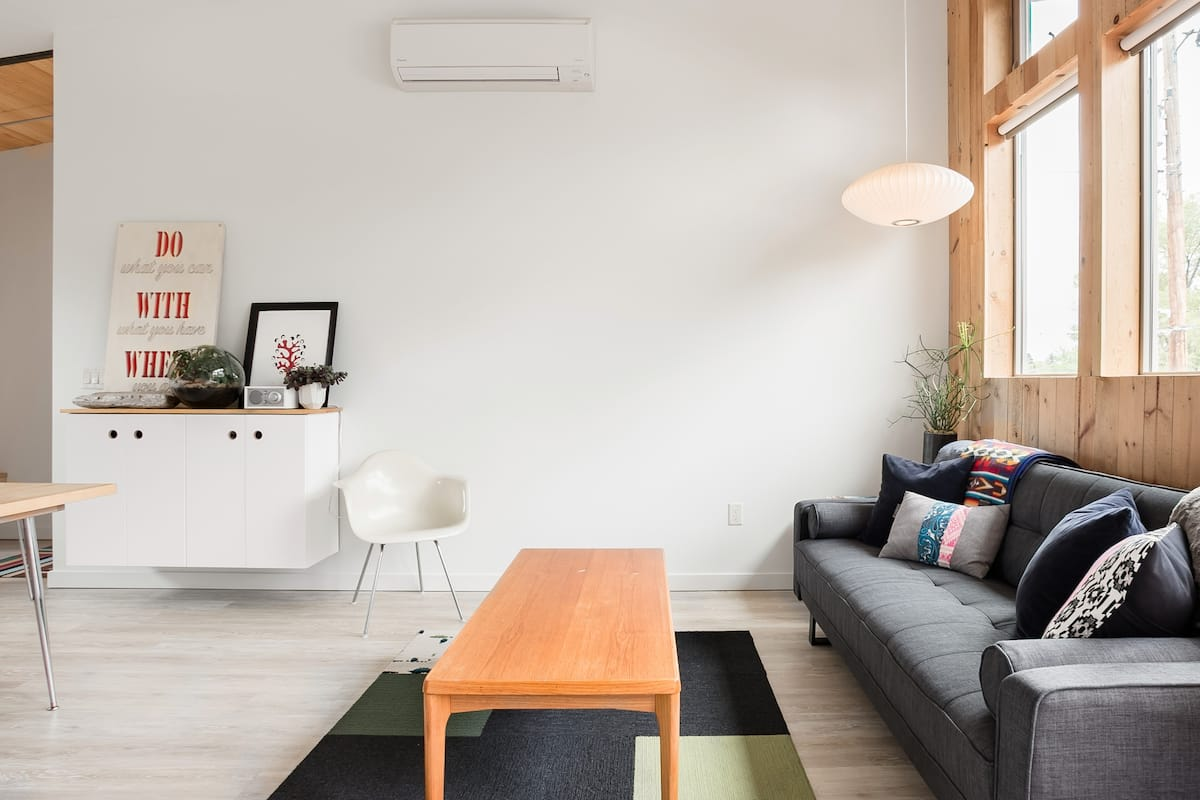 The Sawmill \\ Designer Cabin Vibes Glow In Natural Light
