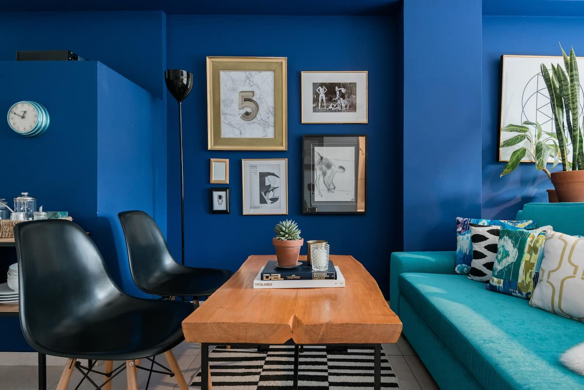 Soak up the Bold Color at a Sunny Palermo Hollywood Studio