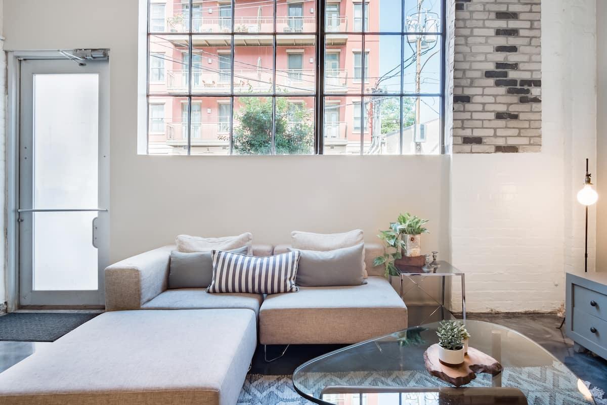 Revitalized Bohemian Warehouse Apartment. Perfect location!