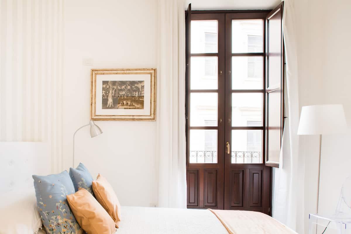 Appartamento ricco di charme e luce nel cuore del centro storico