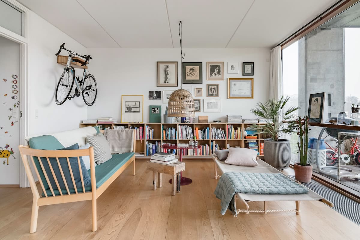 Explore Copenhagen from a Hip Canalside Apartment