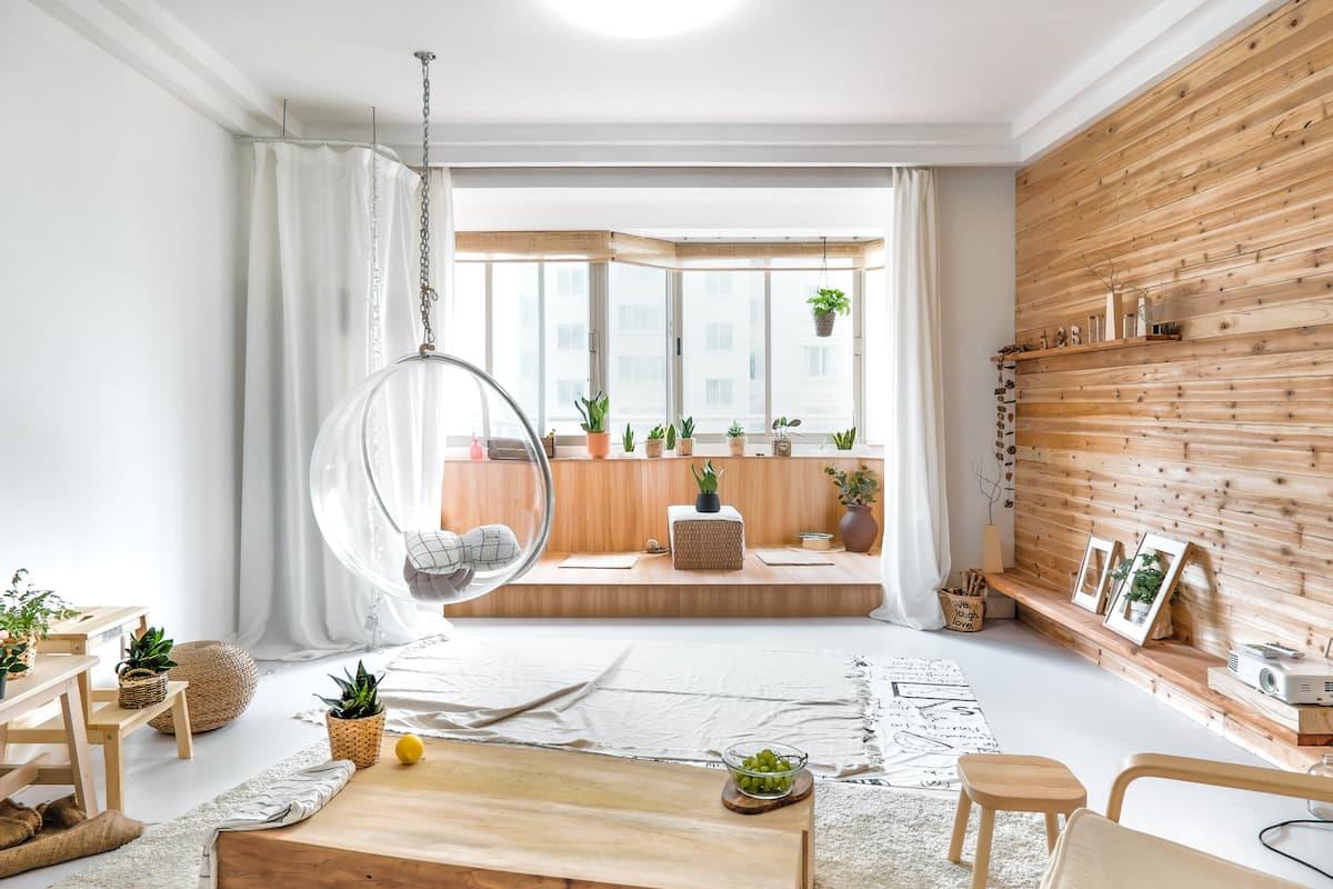 近  田子坊 日月光  梅赛德斯文化中心  慵懒的木屋(独立房间)