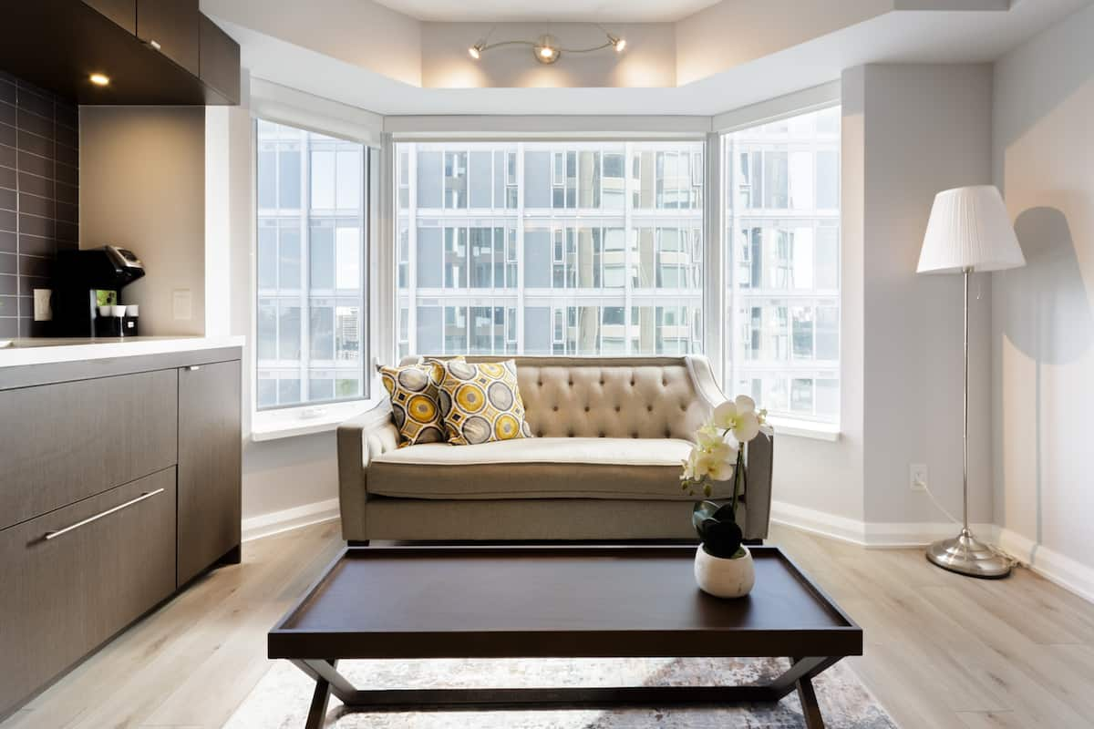 Vibrant, Minimalist Yorkville Condo with City Views
