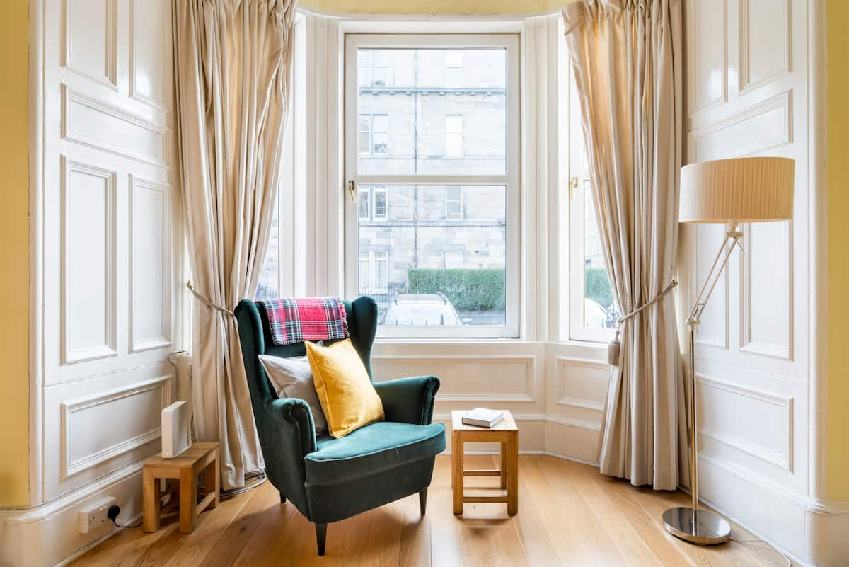 Catch a Show at the Playhouse from a Victorian Apartment
