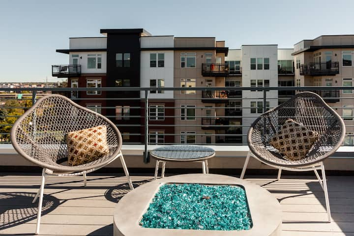 Luxury Denver Airbnb Highlands Townhouse With Rooftop Patio