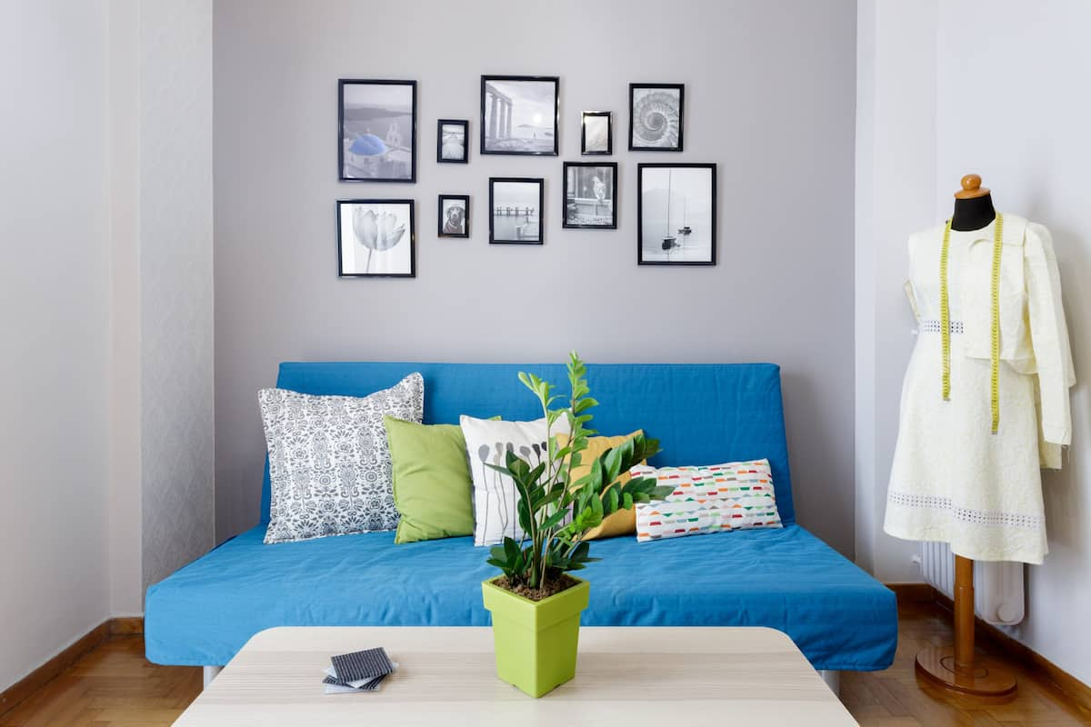 Διαμέρισμα με πινελιές από ραφείο στο Κουκάκι