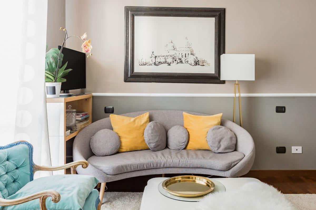 Elegante appartamento in stile contemporary vintage al Portello
