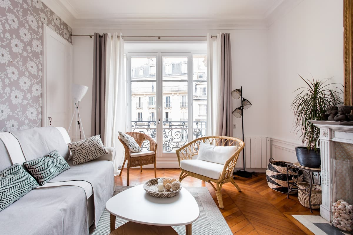 Appartement de charme au cœur de Paris
