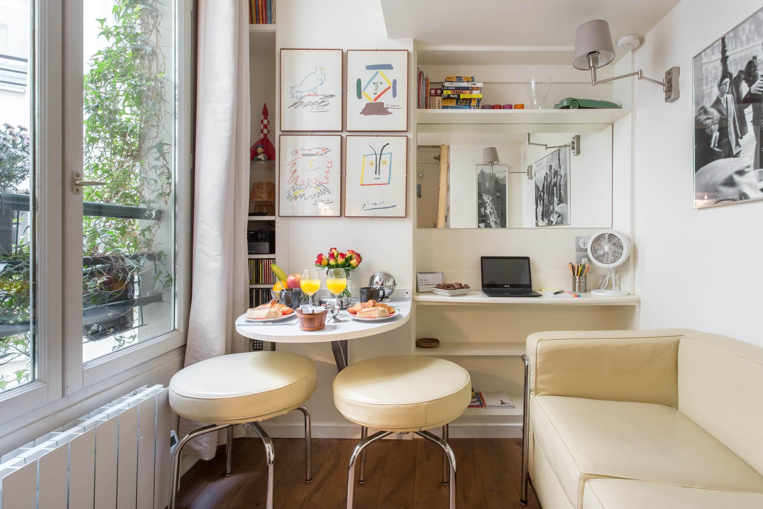 Charmant Petit Studio Parisien Au Cœur Du Marais Categorise
