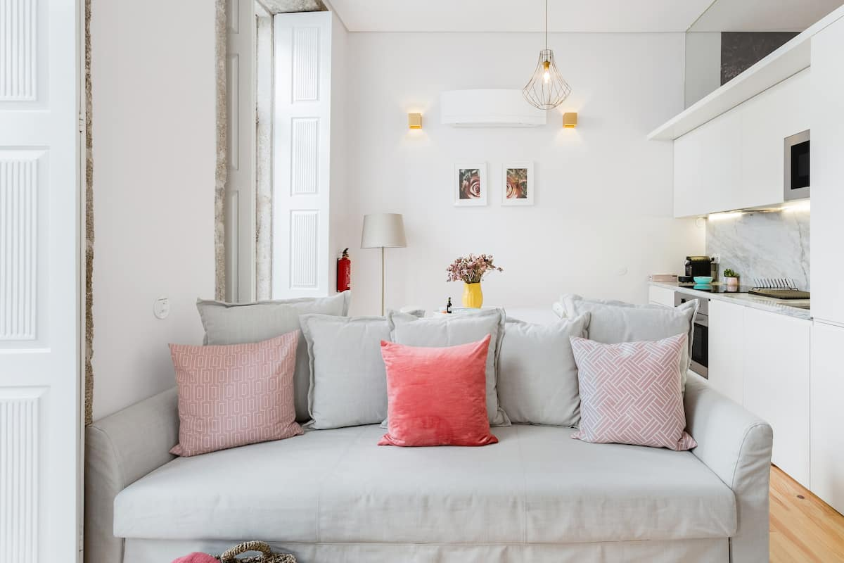 Indulge Porto Apartment in Renovated 19th-Century Building