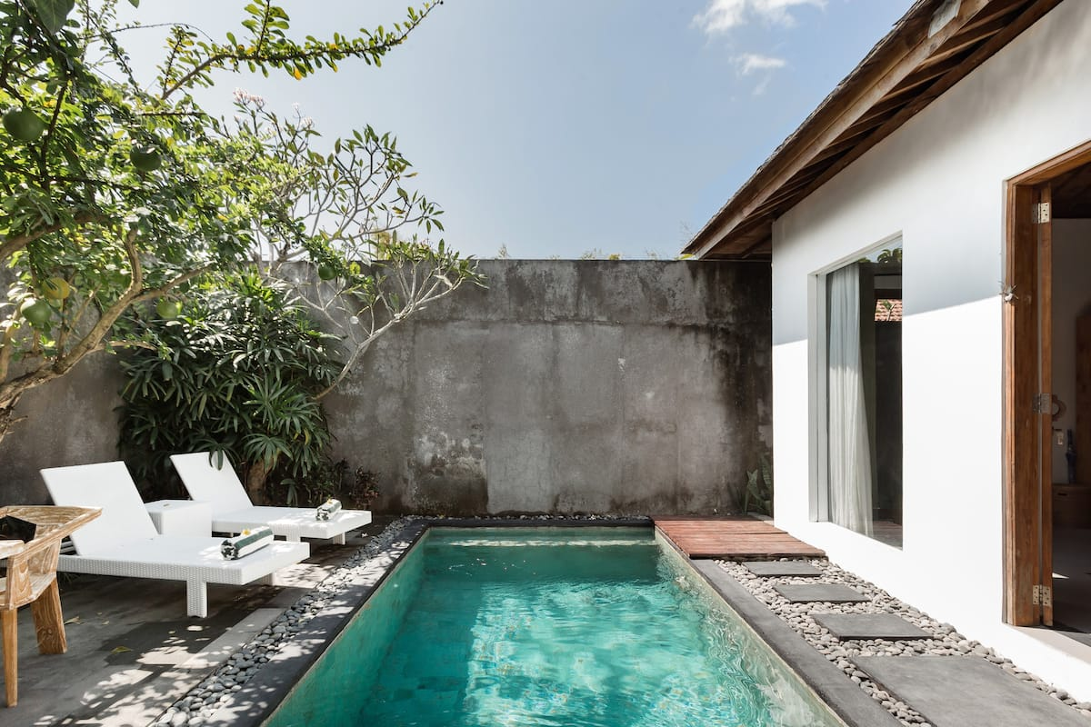 Open-Air Living At A Balinese Villa Oasis With Breakfast
