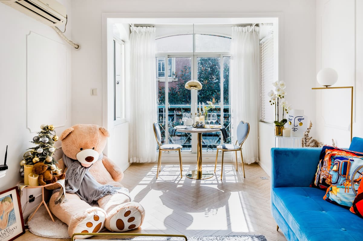 泰迪熊之家 80㎡法式轻奢公寓 | 淮海中路 核心