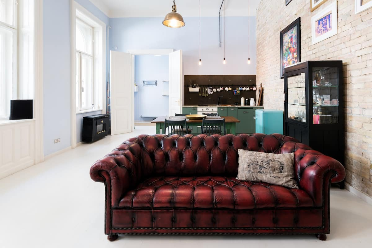 Charming Eclectic Loft Design in Central Location