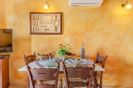 Guest Suite in Mantzourana Villa with Sea View