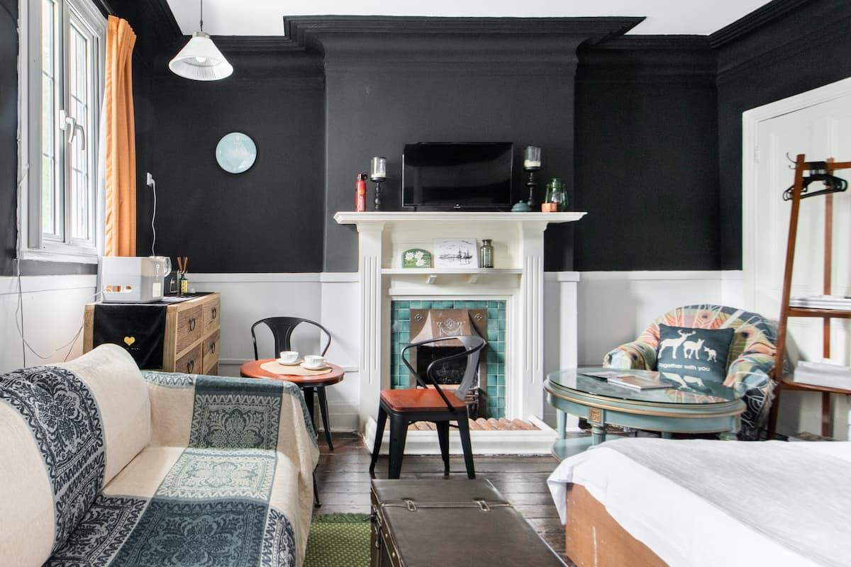可长租/Capricorn's Home&到摩登的黑白公寓来领略法式风情之美/南昌路/近思南公馆/iapm/淮海中路商圈