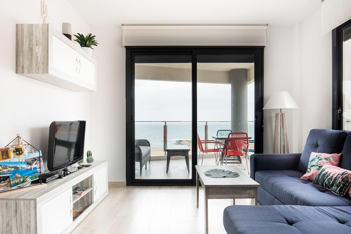 Apartamento exclusivo con vistas al mar en tercera planta