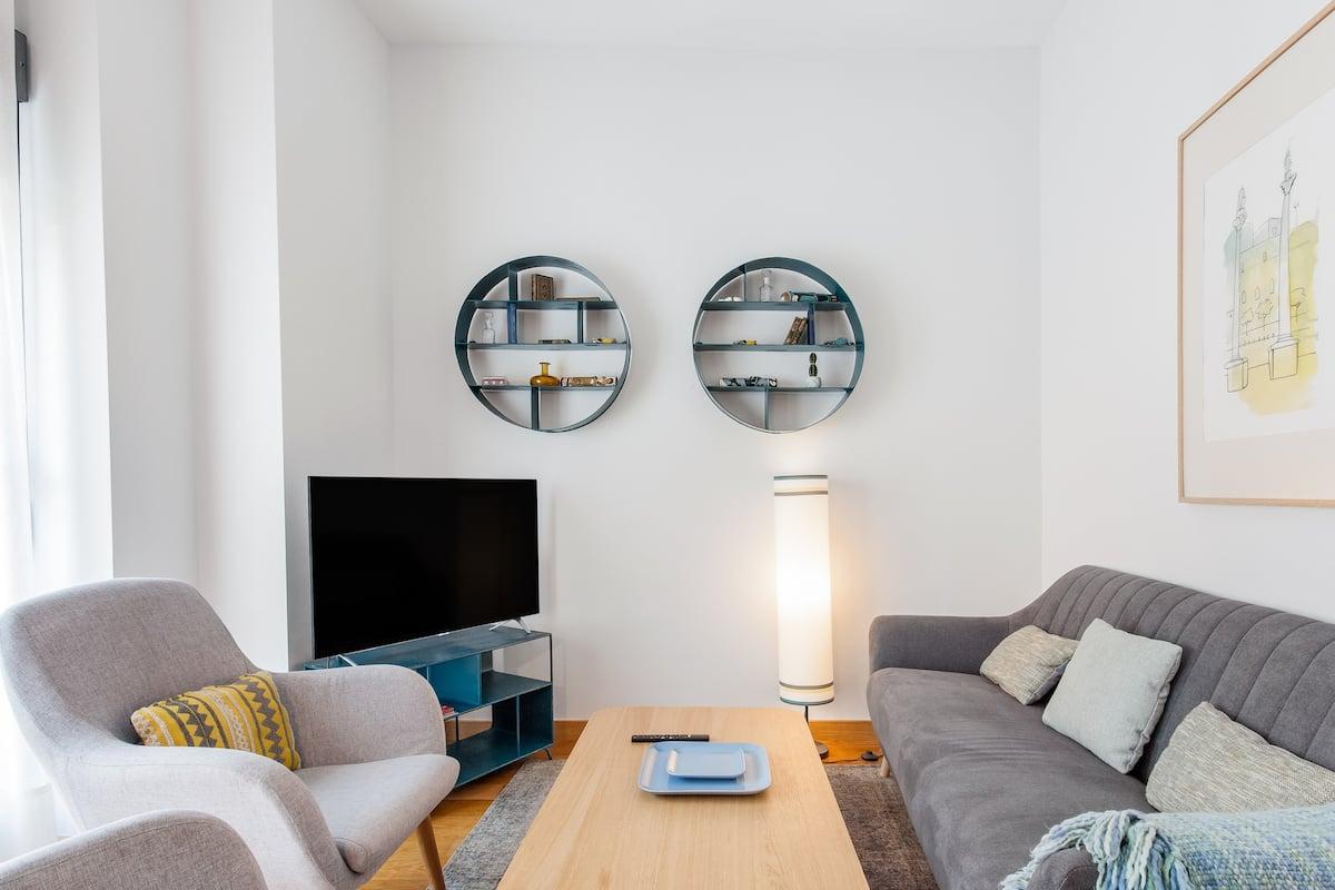 Estilo y tranquilidad en un impecable apartamento en el centro de Sevilla