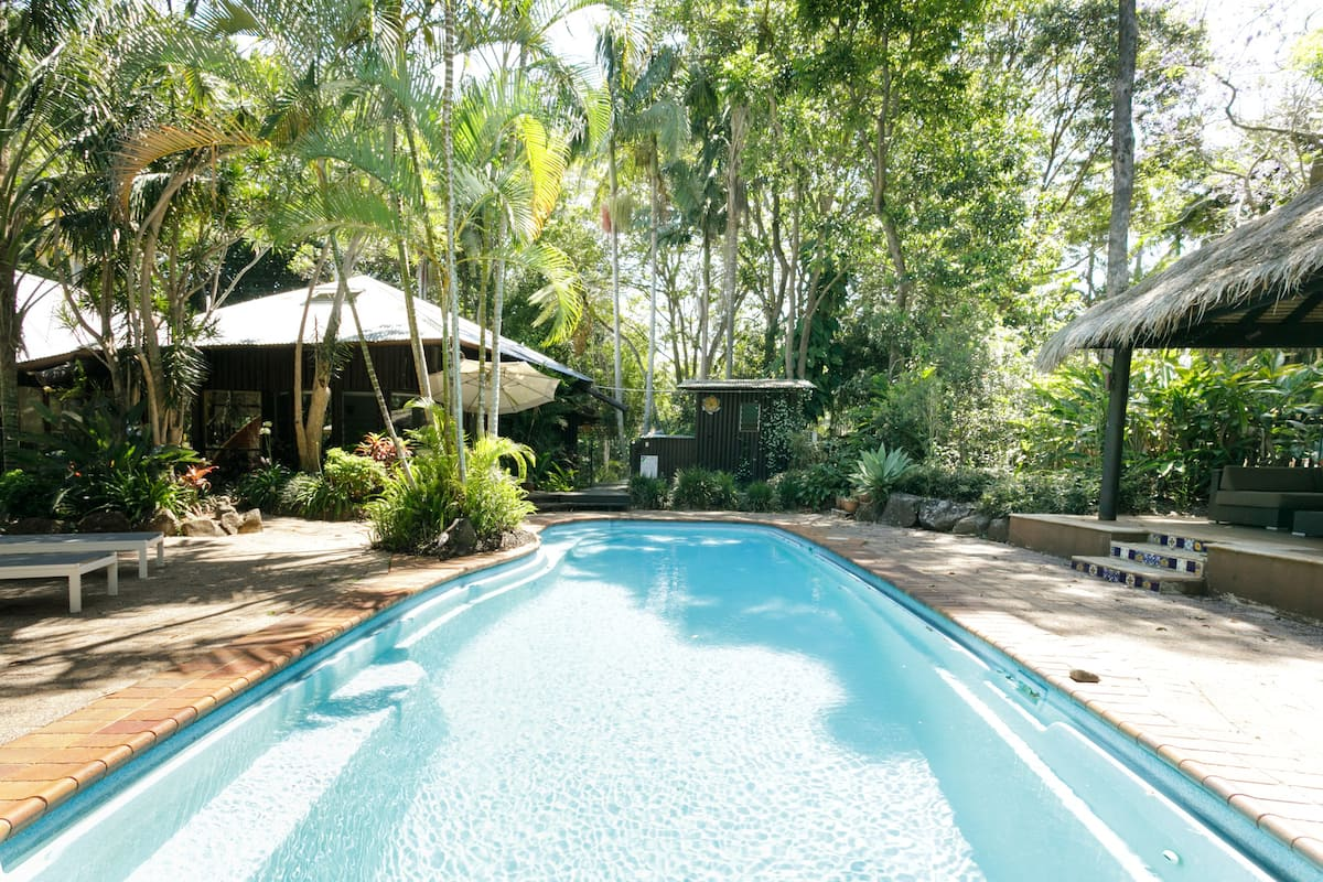 Unique, Private Retreat with Pool and Sub-Tropical Gardens