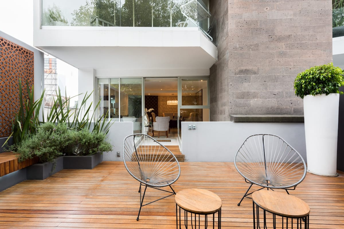 Discover La Condesa from a Terrace of Your Own