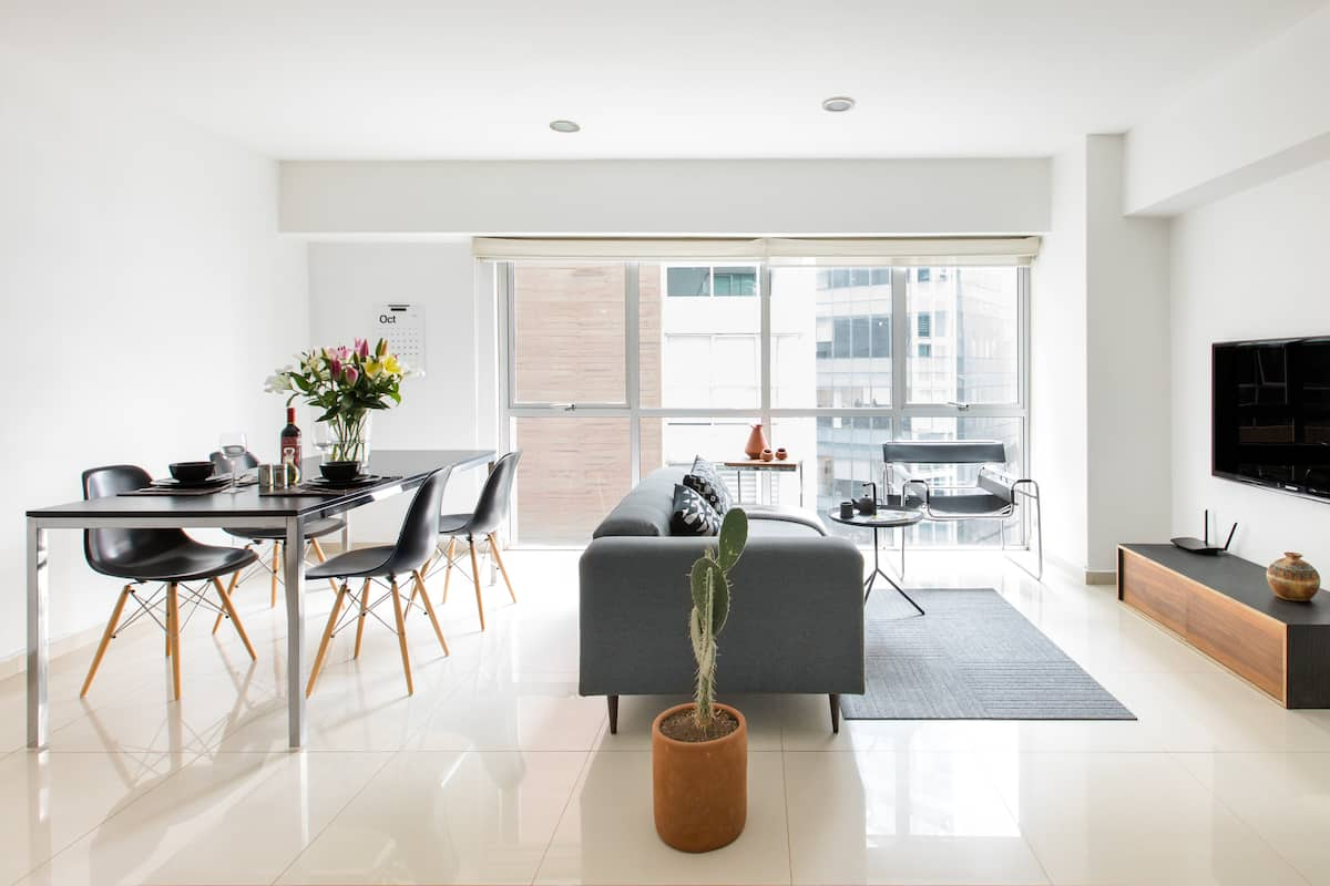 Hermoso loft moderno y minimalista cerca de Polanco Palmas y Reforma