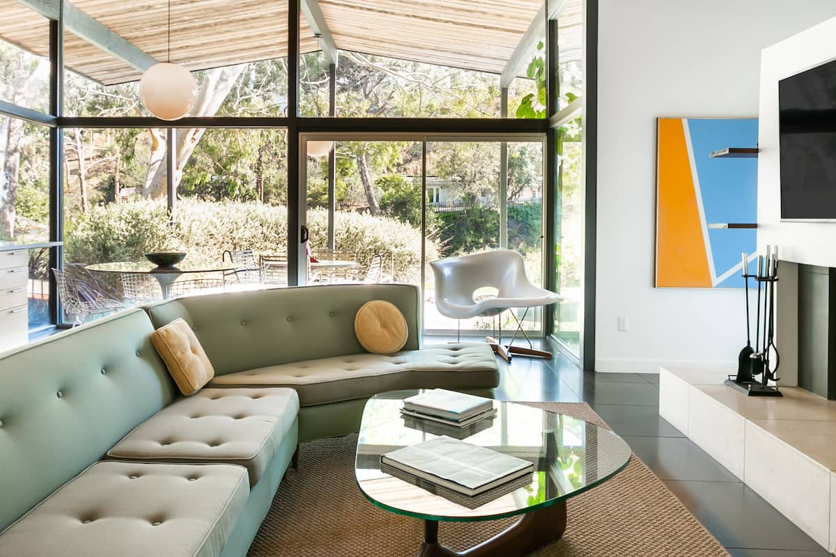 Hollywood Hills Mid-Century House with City Views